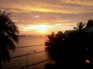 Senja di Pantai Losari